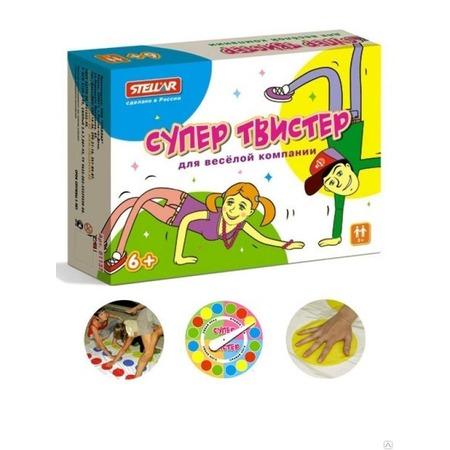 Игра для компаний Stellar «Супер Твистер»
