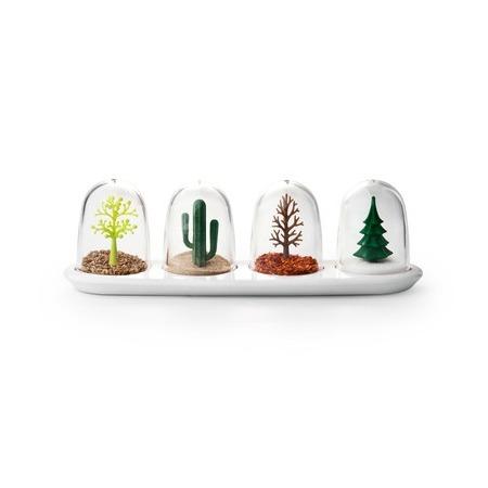 Купить Ёмкости для специй в наборе Qualy Four Seasons