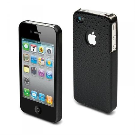 Купить Чехол Muvit Black Rain Glossy Back Cover для iPhone 4S