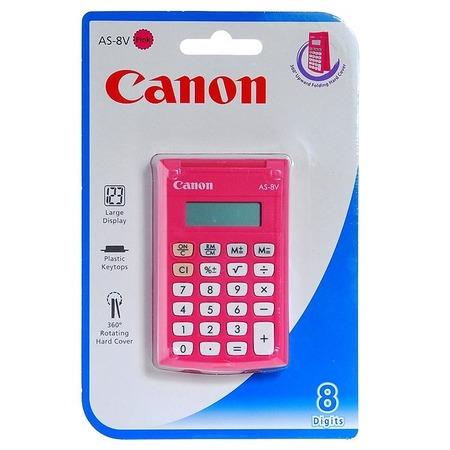 Купить Калькулятор Canon AS-8 PINK