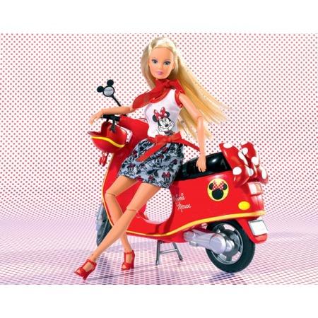Купить Кукла Штеффи на мопеде Simba Minnie Mouse