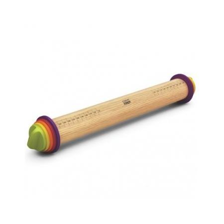 Купить Скалка регулируемая Joseph Joseph Adjustable Rolling Pin. Цвет: мультиколор. Габариты: 69x435x69