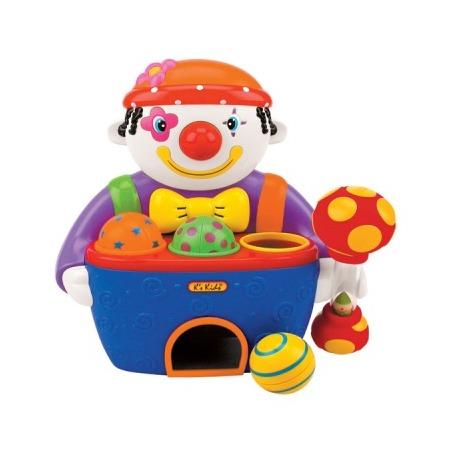 Купить Игрушка-стучалка K'S Kids Веселый клоун с мячами