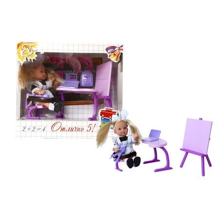 Купить Кукла Еви с аксессуарами Simba «Школьница»