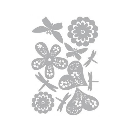 Купить Наклейка для декорирования стен Rayher «Романтика»