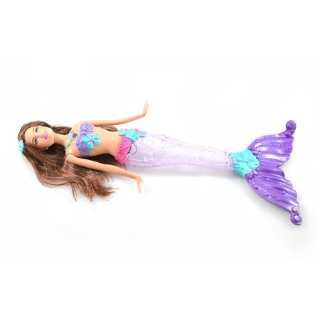 Купить Кукла Mattel Русалка-сверкающие огоньки. В ассортименте
