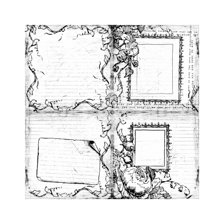 Бумага для раскрашивания Prima Marketing PM-811327