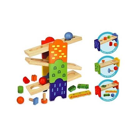Купить Развивающая игрушка I'm toy «Скамейки»