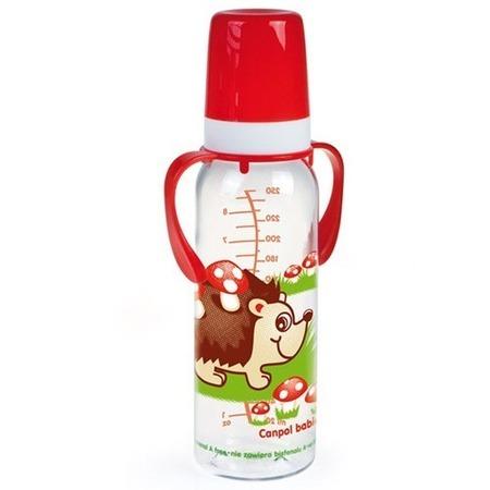 Купить Бутылочка для кормления CANPOL с ручкой, 250 мл
