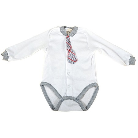 Купить Боди для новорожденных с галстуком Ёмаё 24-05
