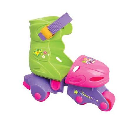 Купить Детские роликовые коньки для девочек 1 TOY «Красотка» Т52860