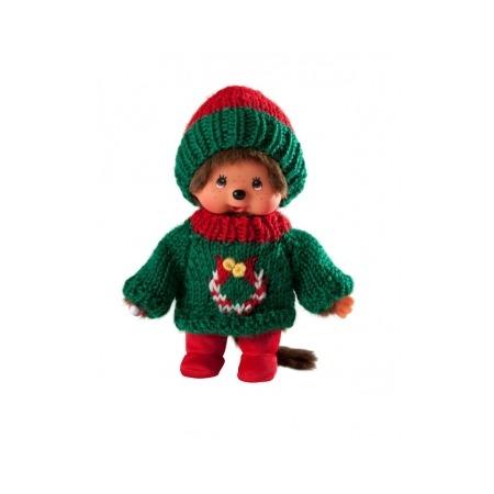 Купить Мягкая игрушка Sekiguchi Мальчик в зеленом свитере