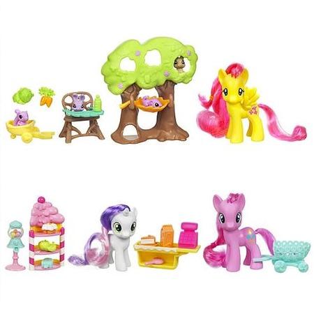 Купить Набор игровой для девочек тематический Hasbro Пони. В ассортименте