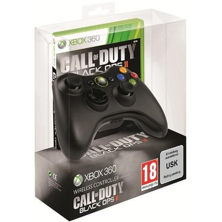 Купить Набор беспроводной Microsoft из геймпада для Xbox 360 и игра Call of Duty: Black Ops II