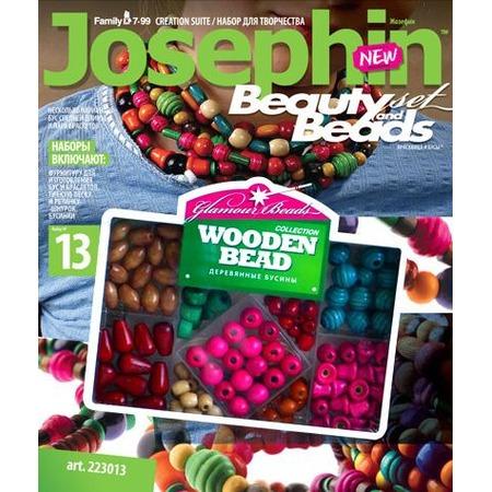 Купить Набор для создания бус Josephin Деревянные бусины (223013)