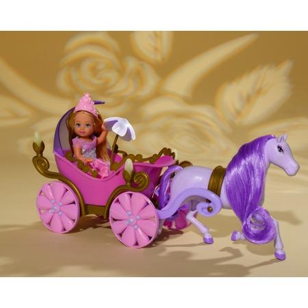 Купить Кукла еви Simba в карете с лошадью