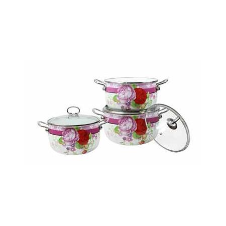 Купить Набор посуды Delta Розы