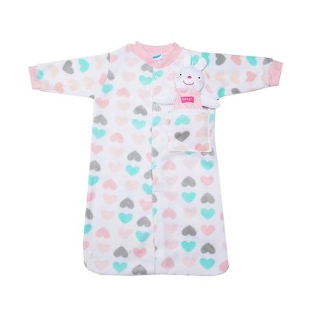 Купить Комплект для новорожденных: спальник и игрушка Bon Bebe Z1792-AST