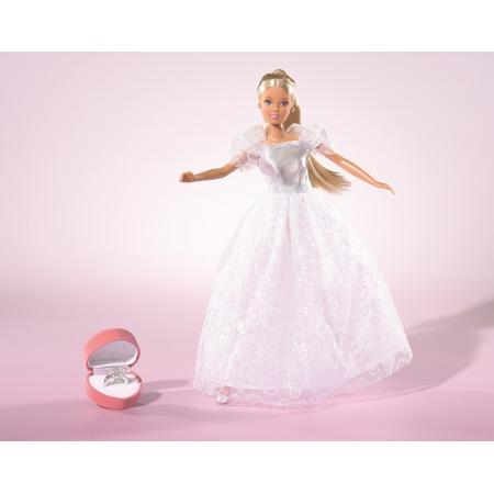 Купить Кукла Штеффи с аксессуарами Simba «Романтическая невеста»