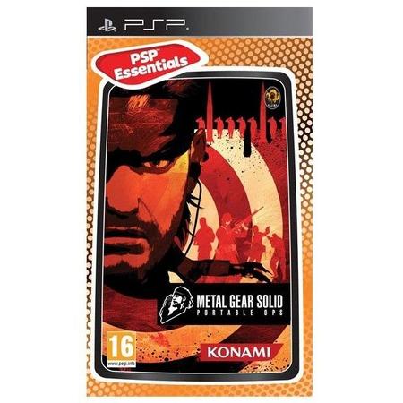 Купить Игра для ps SONY Metal Gear Solid Portable Ops. Essentials (eng)