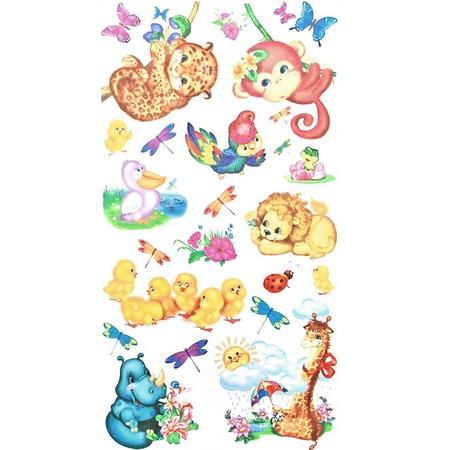 Купить Наклейки для стен КРЕАТТО «Животные для малышей»