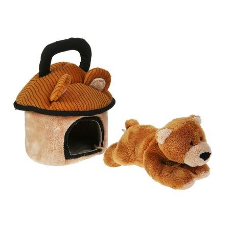 Купить Мягкая игрушка Gulliver Домик-сумка с мишкой