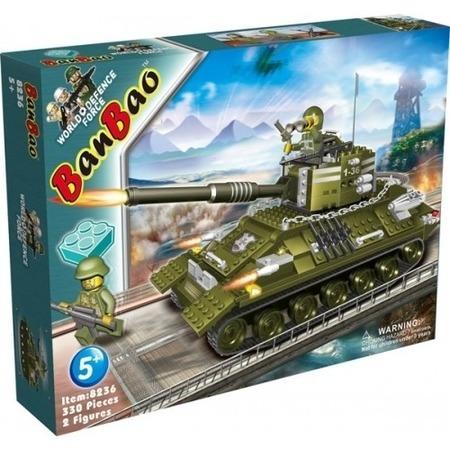 Купить Конструктор Banbao Танк, 330 деталей