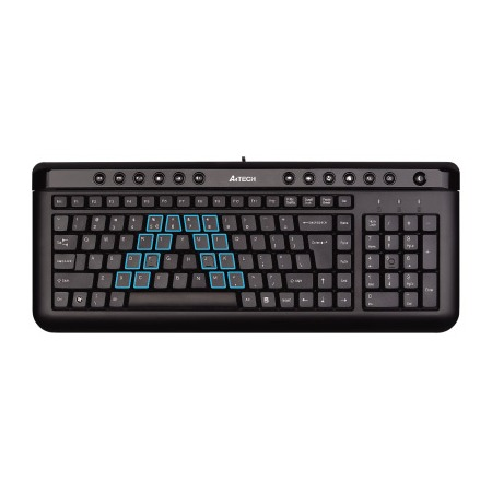 Купить Клавиатура A4Tech KL-40 BLACK USB