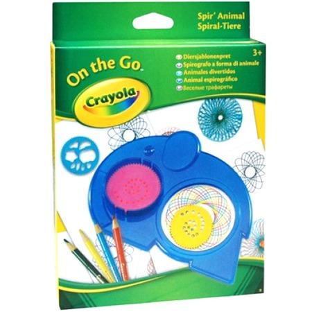 Купить Мини-набор Crayola «Веселые трафареты»
