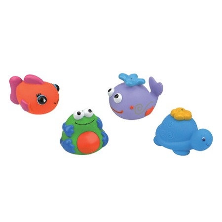 Купить Набор игрушек для ванной K'S Kids «Черепашка,кит,рыбка и лягушка»
