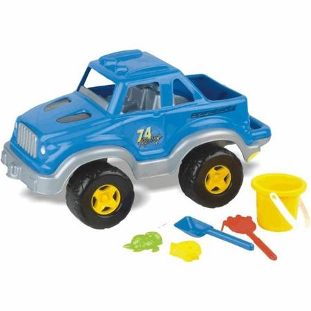 Купить Джип с набором для игры в песочнице Dolu 6023. В ассортименте