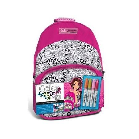 Купить Набор для девочек: рюкзак и маркеры для ткани Style Me Up! 1881