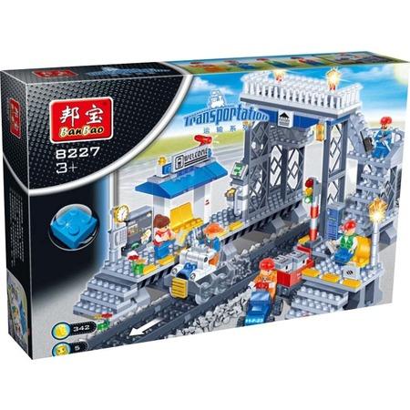 Купить Конструктор Banbao Железнодорожная станция, 342 детали