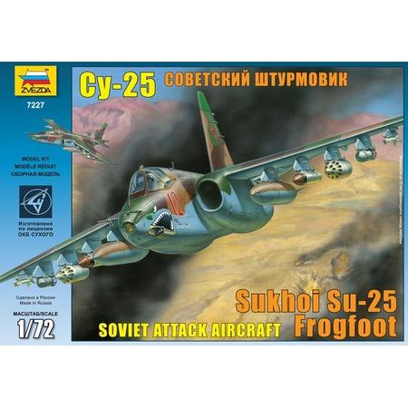 """Купить Сборная модель Звезда Самолет """"Су-25"""""""