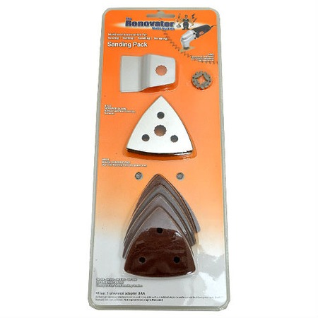 Купить Набор шлифовальных насадок для ручного инструмента Renovator Sanding Pack