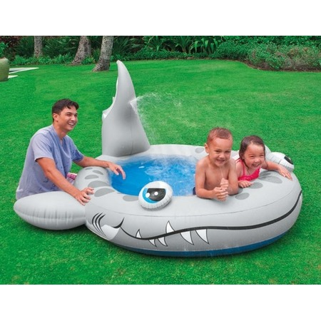Купить Бассейн надувной Intex «Акулка» 57433