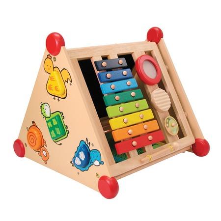 Купить Центр развивающий 5 в 1 I'm toy «Сортер, музыка, рисование, застежки»