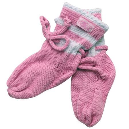 Купить Носки вязаные ЧУДО-КРОХА. Цвет: розовый