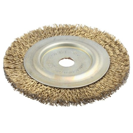 Купить Щетка дисковая к угловой шлифмашине Зубр 3518-125-22