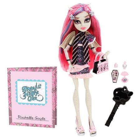 Купить Кукла Monster High Mattel «Монстростическая ночка» Рошель Гойл