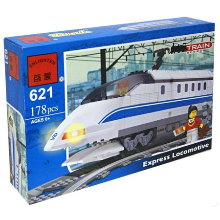 Купить Конструктор Enlighten Р49095 Поезд