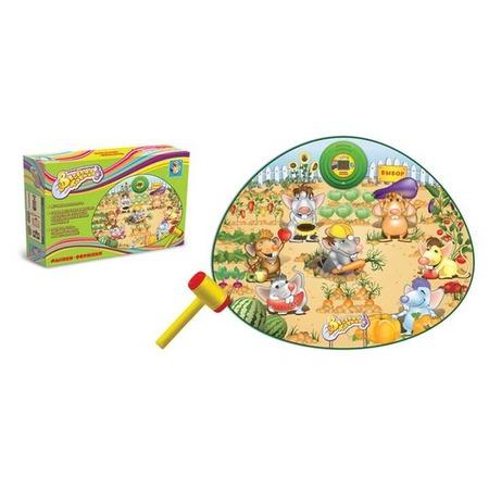 Купить Коврик-игра музыкальный 1 TOY Т53060 Мышки-воришки