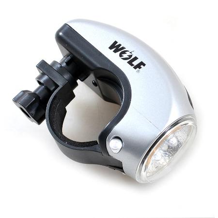 Купить Фонарь велосипедный передний Wolf Light TL-TL701