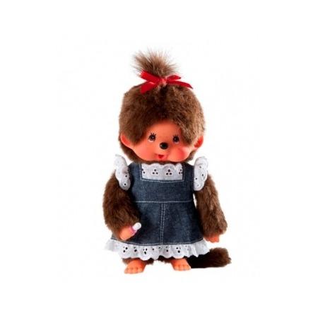 Купить Мягкая игрушка Sekiguchi Девочка в джинсовом платье