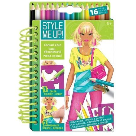 Купить Блокнот с карандашами Style me up! «Повседневная элегнатность»
