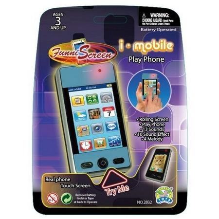 Купить Мобильный телефон-игрушка Gealex I-mobile PlayPhone