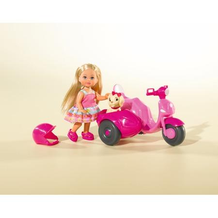 Купить Кукла еви Simba с собачкой на мотороллере