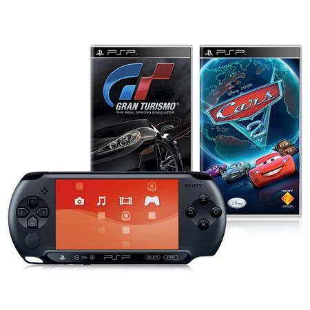 Купить Консоль игровая SONY PlayStation Portable E-1008 и игры GT и Cars 2