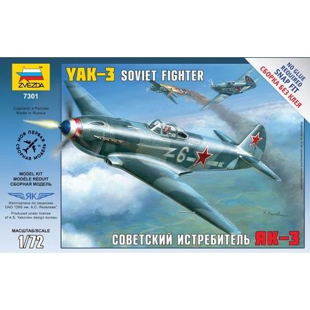 Купить Сборная модель Звезда советский истребитель Як-3