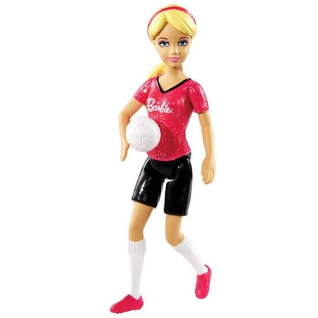 Купить Кукла мини Mattel Barbie-футболистка